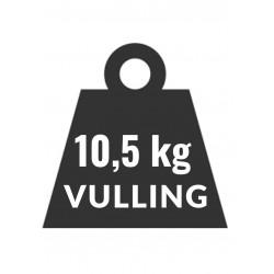 10,5kg Vulling Propaan Co2 Neutraal voor heftruck LPG en snelkoppeling aansluiting