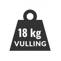 18 kg vulling voor heftruck gas LPG als snelkoppeling aansluitng