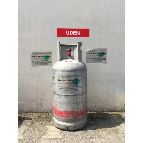 14 kg Vulling Heftruckgas Rijngas of MERTZ fles