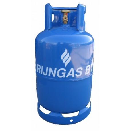 Rijngas- of MERTZfles Vulling 10,5kg Propaan CO2 neutraal