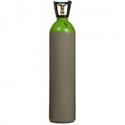 Nieuwe volle 40 liter fles Menggas 85/15 (Supergas)